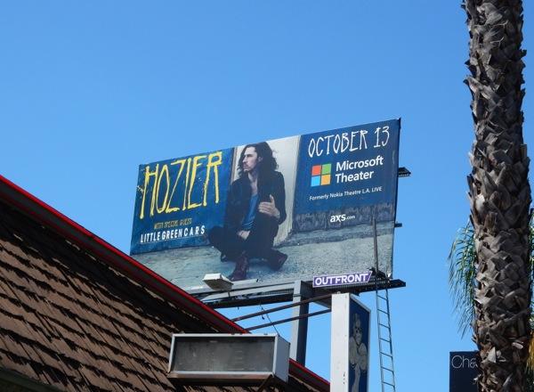 Hozier concert billboard