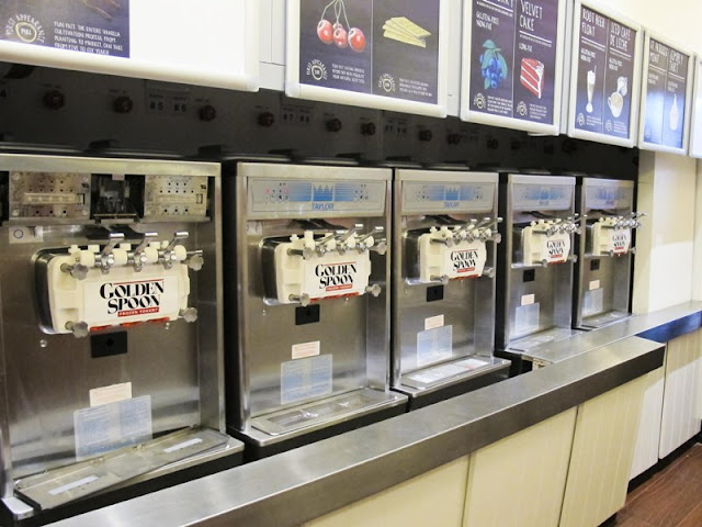 Golden Spoon Frozen Yogurt Machine Dispensers
