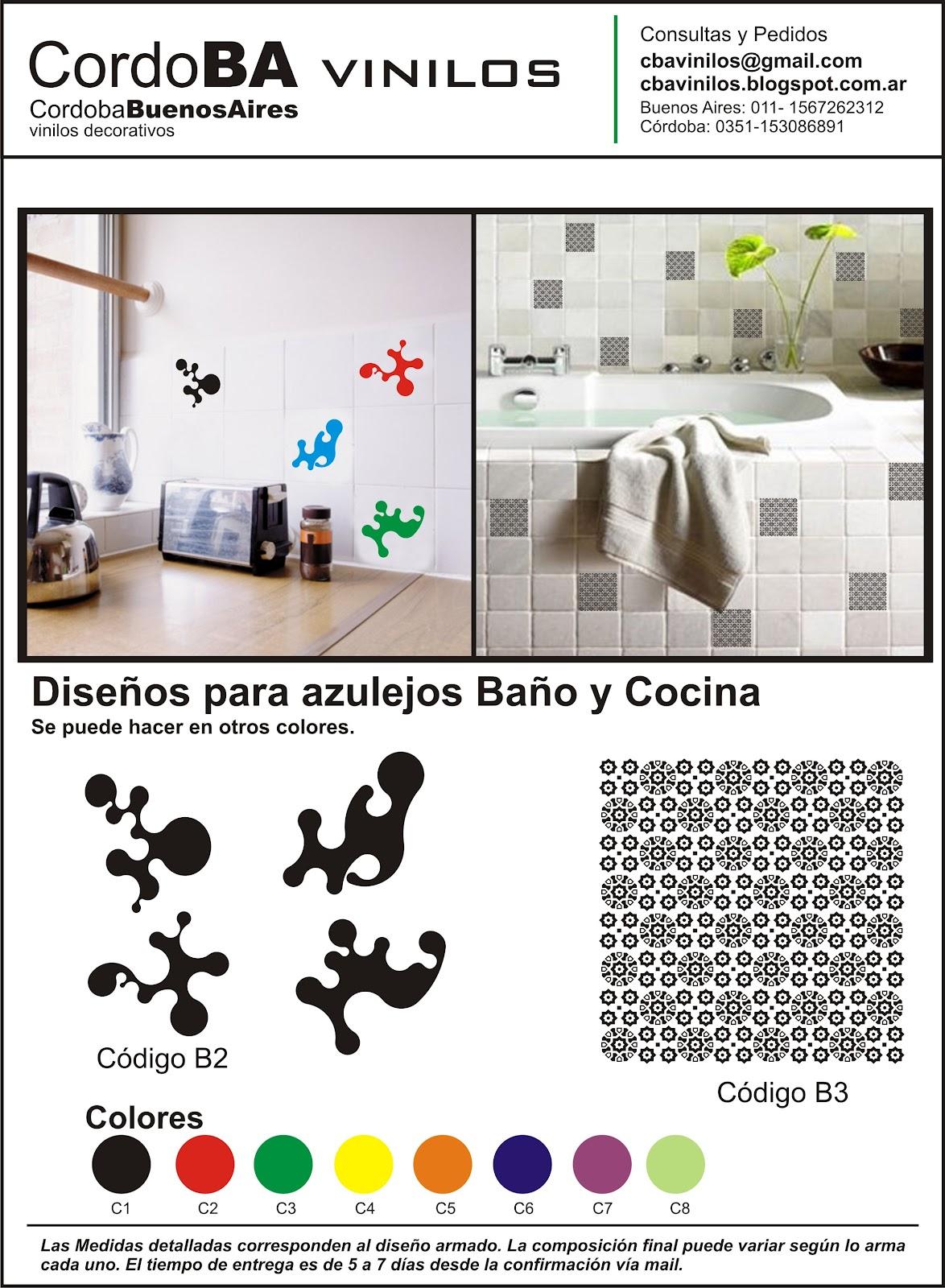 C rdoba vinilos decorativos ba o y cocina - Vinilos decorativos para banos y cocinas ...
