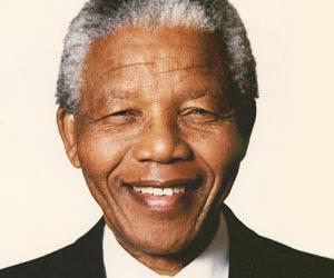 Homenatge a Nelson Mandela.