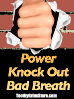 power knock out bad breath minty formula