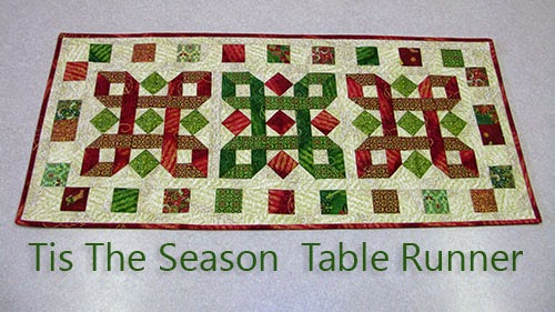 Tis The Season by Ro Gregg table runner