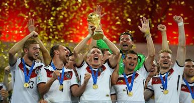 ألمانيا تفوز بكأس العالم للمرة الرابعة في تاريخها