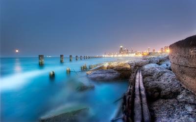Fotografía en HDR de una playa muy hermosa