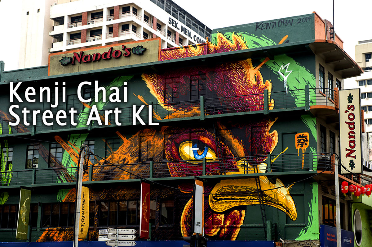Trend Kenji Chai Malaysia Street Art