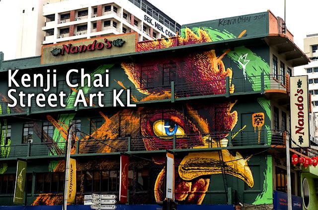 Kenji Chai Malaysia Street Art