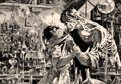 Bernie Wrightson's I Shall Be With You