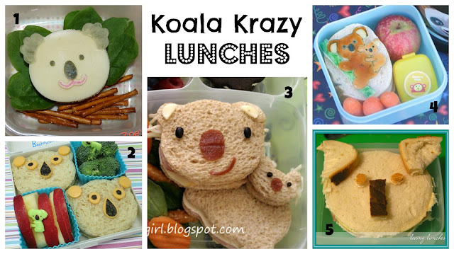 Zoe's Lunch Box - Koala from Animal Friends