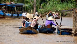 My Tho, delta du mekong, Vietnam