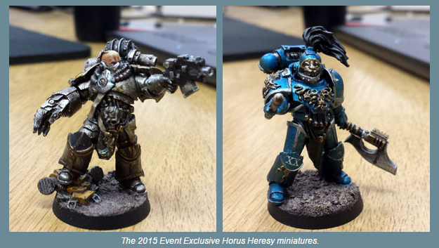 This Year 2 Forgeworld Event Only Miniatures