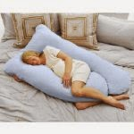 Todays Mom Cozy Comfort Pregnancy Pillow - Sky Blue