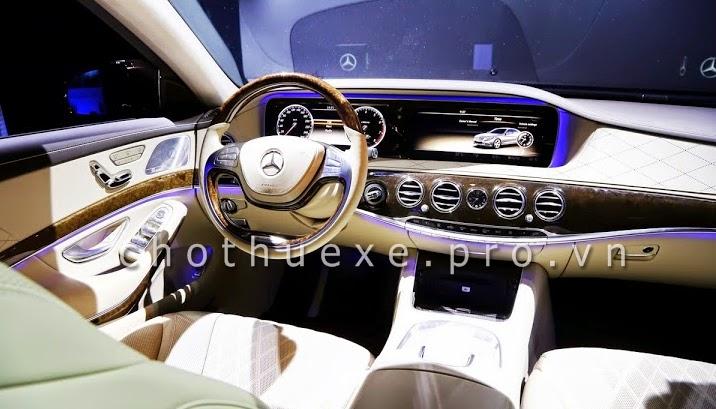 Cho thuê xe cưới VIP Mercedes S500 L 2014 đẳng cấp siêu VIP 2