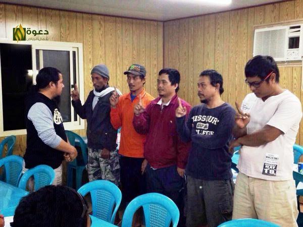 إسلام 5 أشخاص هذه الليلة 26.11.2014 في جولة دعوية