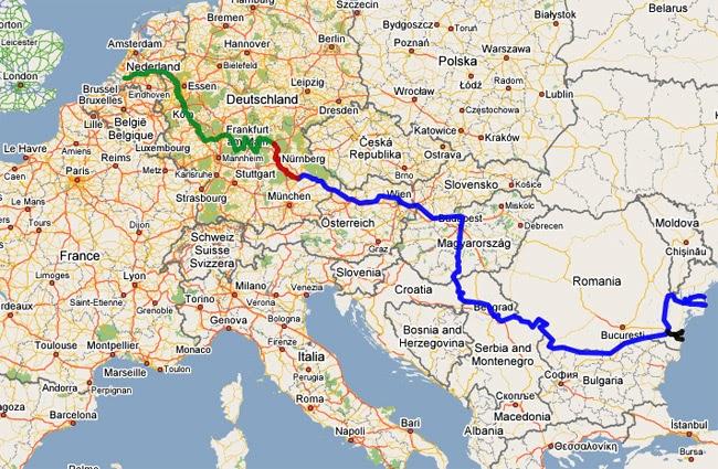 Danube River World Map My Blog - Danube river on world map