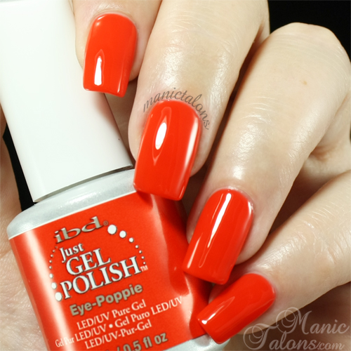 IBD Just Gel Polish Eye-Poppie Swatch