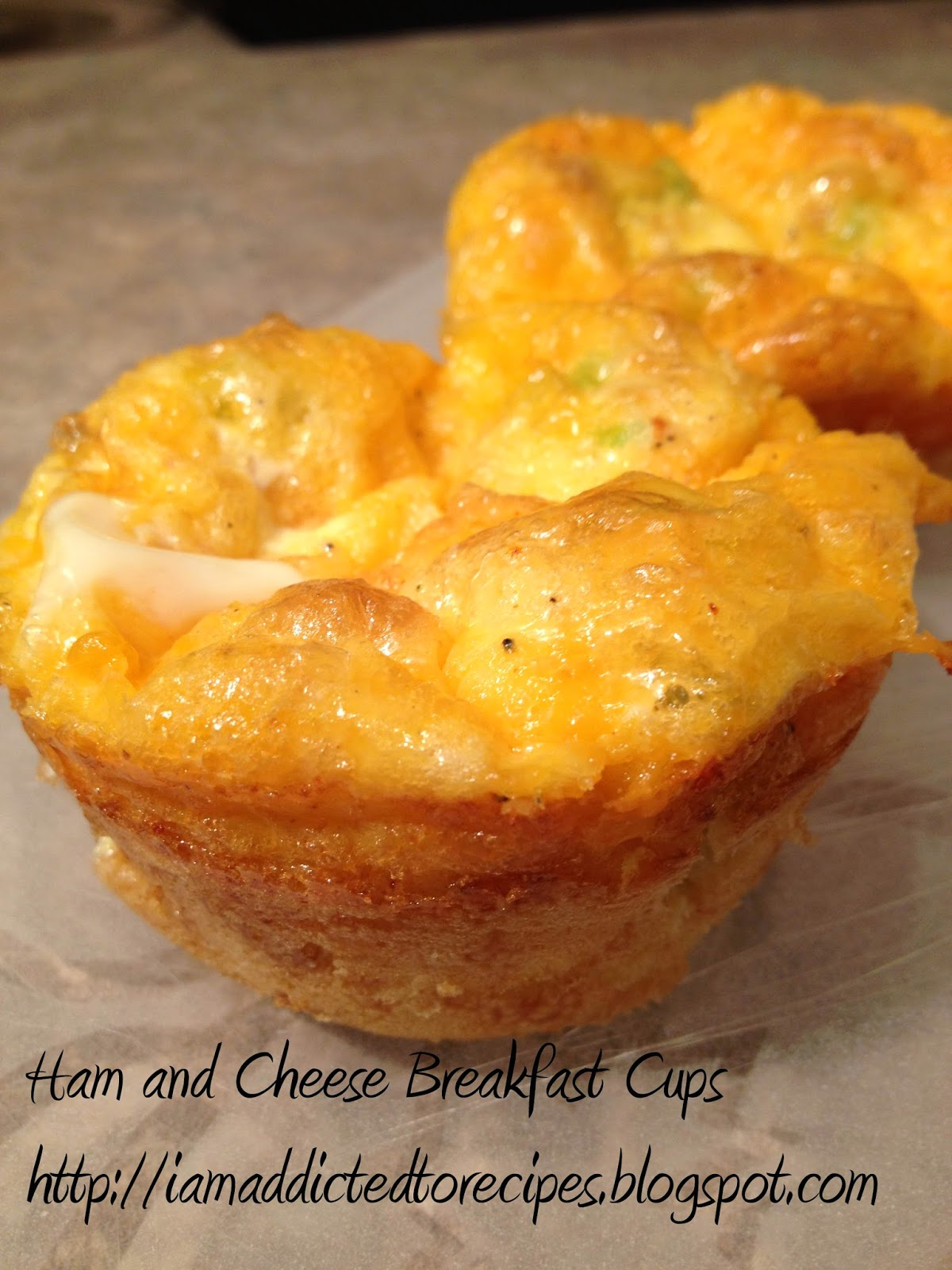 Ham and Cheese Breakfast Cups | Addicted to Recipes