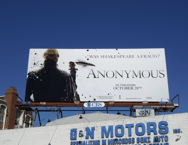 Anonymous billboard