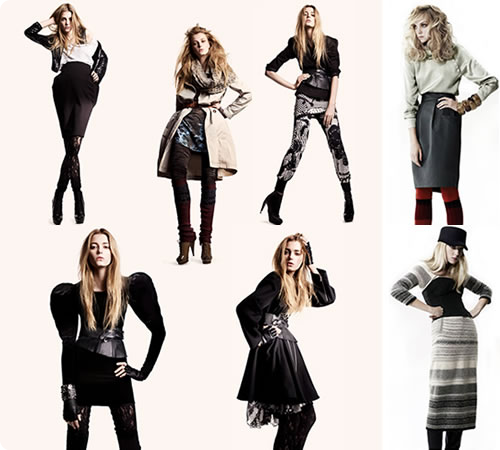vestidos para inverno