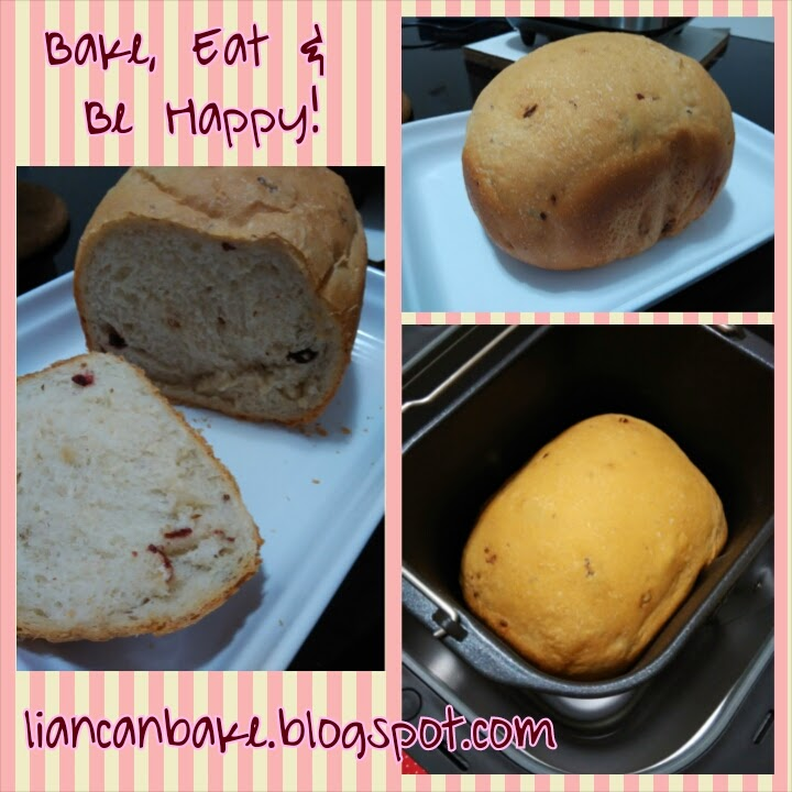 1st Loaf of Song-Cho Breadmaker Bread