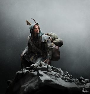 kili-the-dwarf-digital-painting