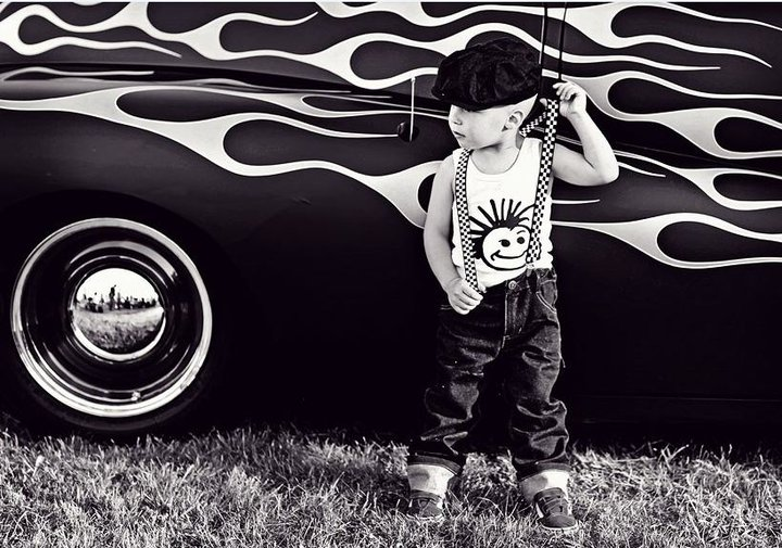 rockabilly wedding inspirationRockabilly Little Boy