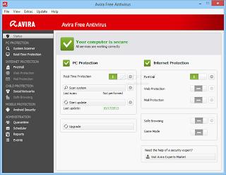 تحميل برنامج افيرا انتي فايروس 2014 مجانا Download Avira Antivirus Free