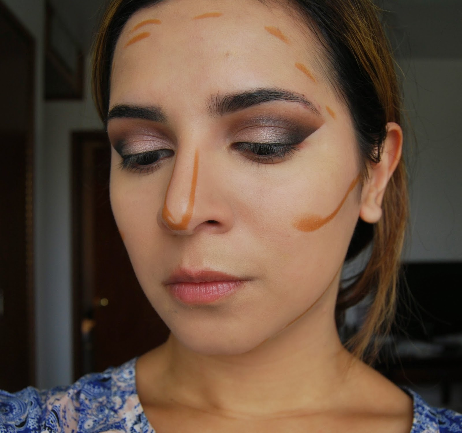 This Is How I Apply The Shade 65 To Contour A Little Bit Goes A Long Way  And It Can Look Orangey If You Use Too Much Due To Its Red Undertone