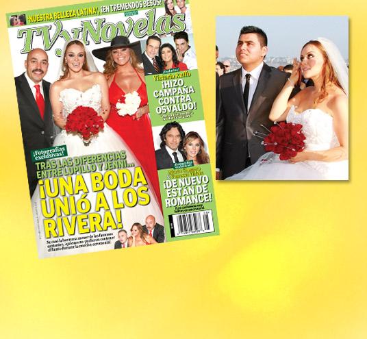 Julio, 20, 2011. La hermana de Jenni Rivera , Rosie Rivera , se casó