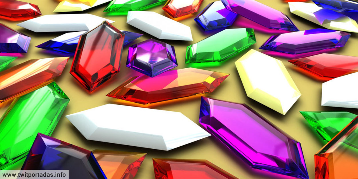 Diamantes de colores