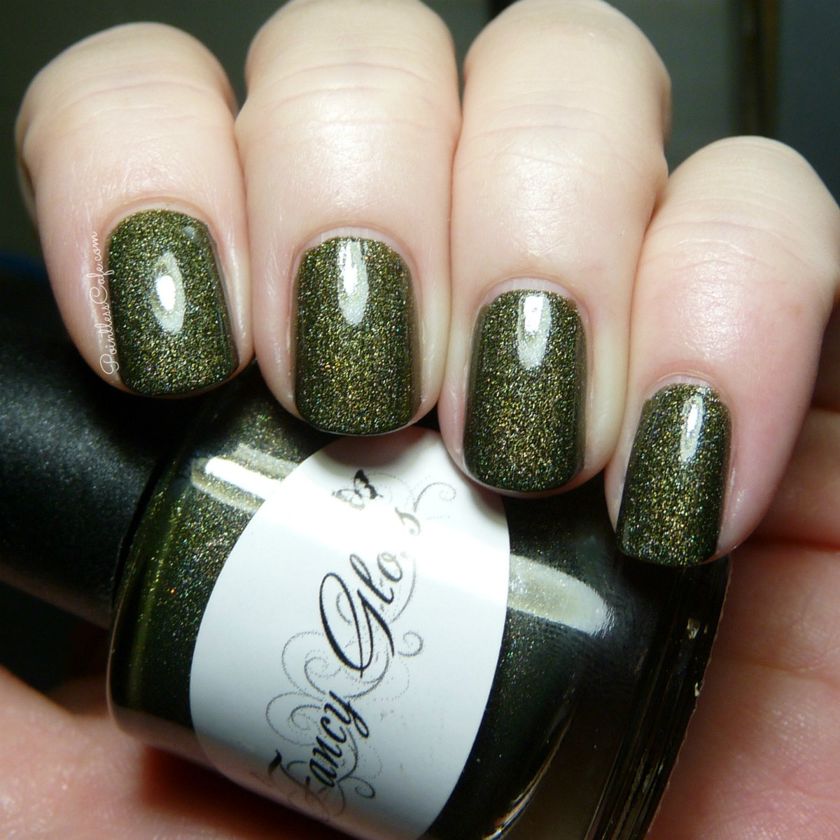 Nail of the Day: Fancy Gloss Camo Home with Me | Pointless Cafe