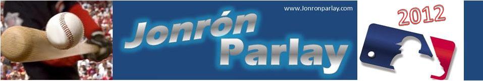 JONRÓN PARLAY DATOS ANALISIS BEISBOL www.jonronparlay.com