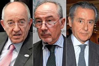 Miguel Ángel Fernández Ordónez Presidente del Banco de España y la cúpula de Bankia