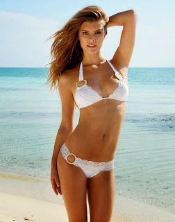 Swimwear Photoshoot : Nina Agdal Beach Bunny Bride Photoshoot 2014