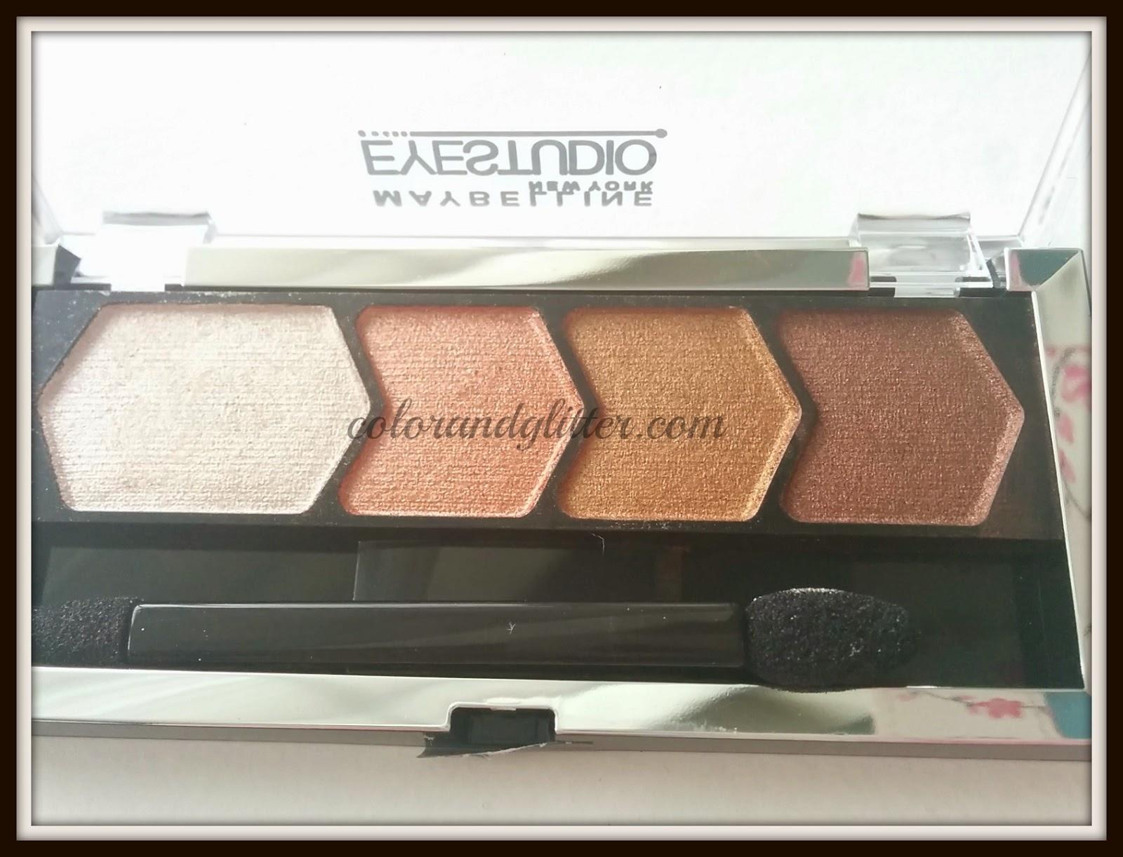 Maybelline Eyestudio Color Plush Silk Eyeshadow in Copper Chic