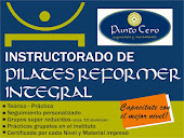 INSTRUCTORADO PILATES REFORMER INTEGRAL