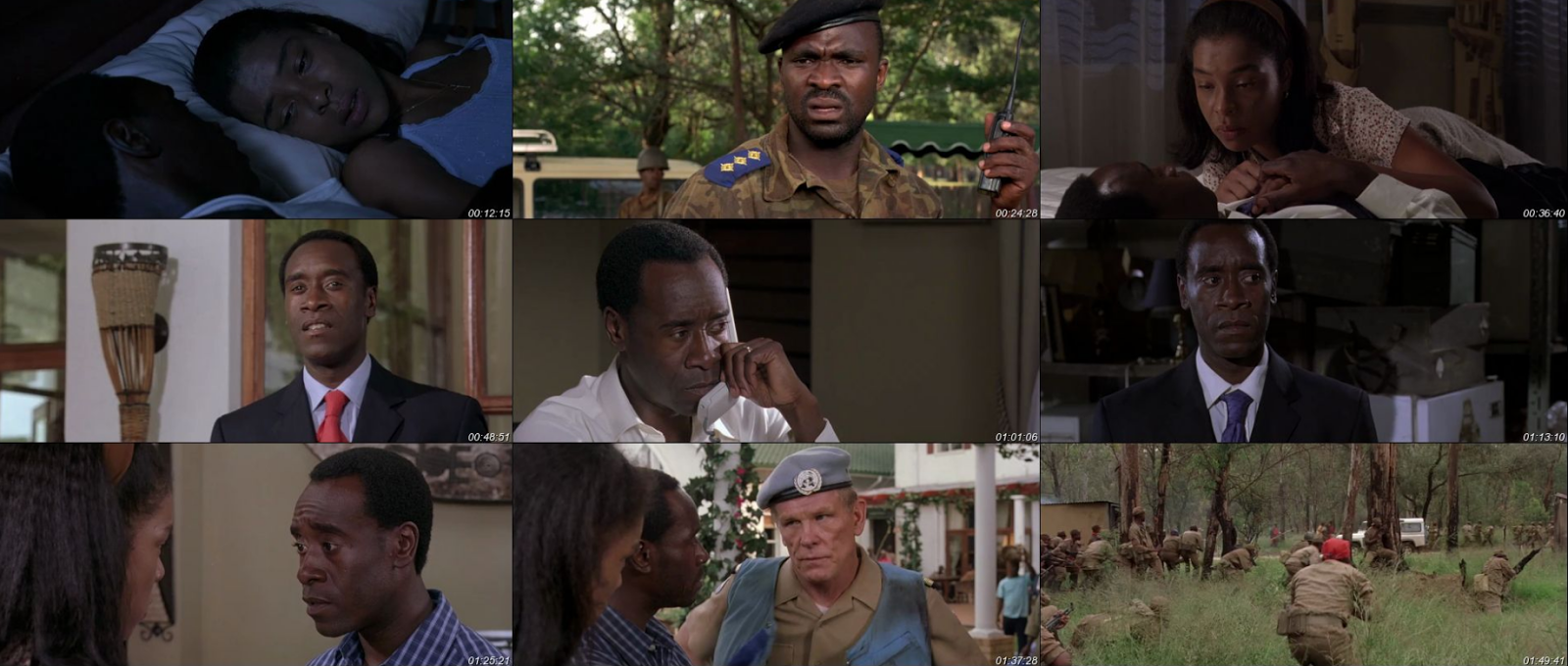 hotel rwanda 7 essay
