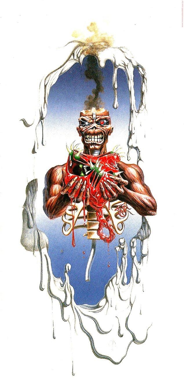Feliz Natal Iron Maiden Christmas Card 2012 IRON MAIDEN