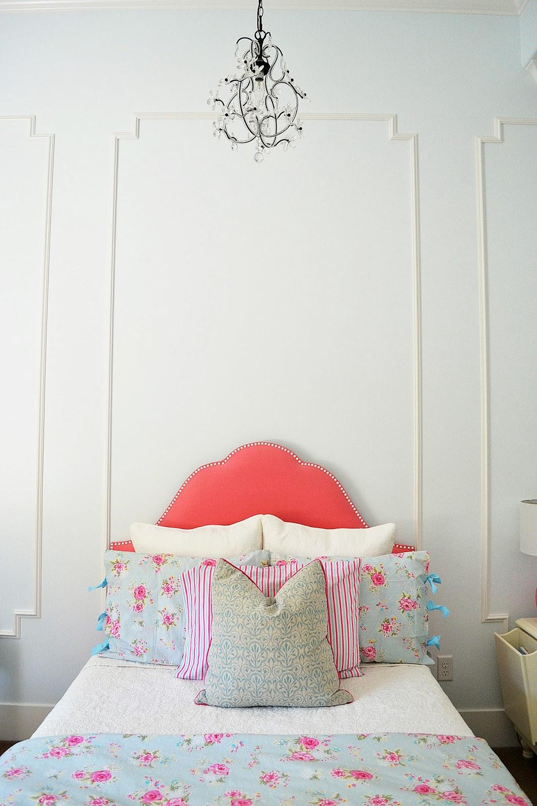 My Home: Little Miss Ju0027s Pink U0026 Blue Bedroom