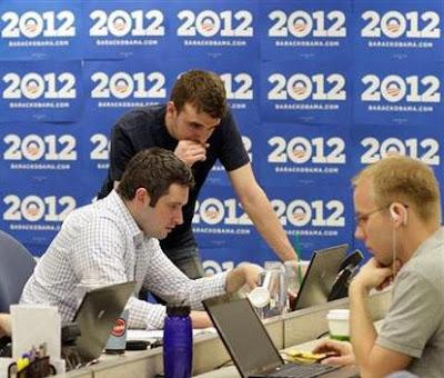 Obama 2012 campaign breaks goal