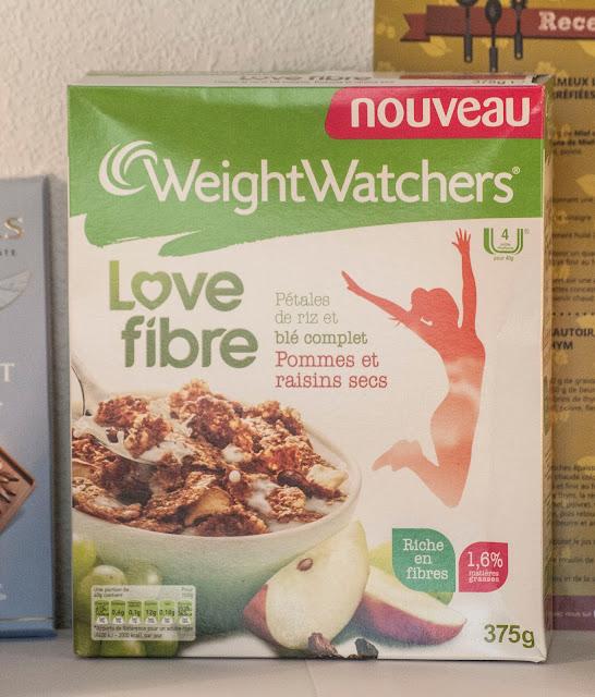 love fibre, weight watchers, avis,degustabox, box, alimentaire