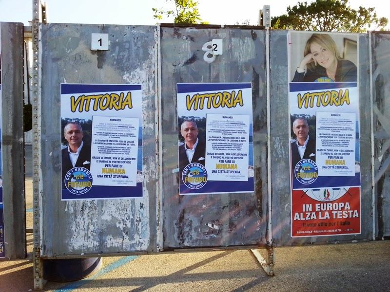 Vittoria del neo sindaco di Numana Gianluigi Tombolini