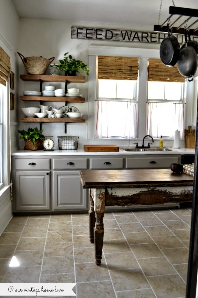 vintage home love kitchen updates