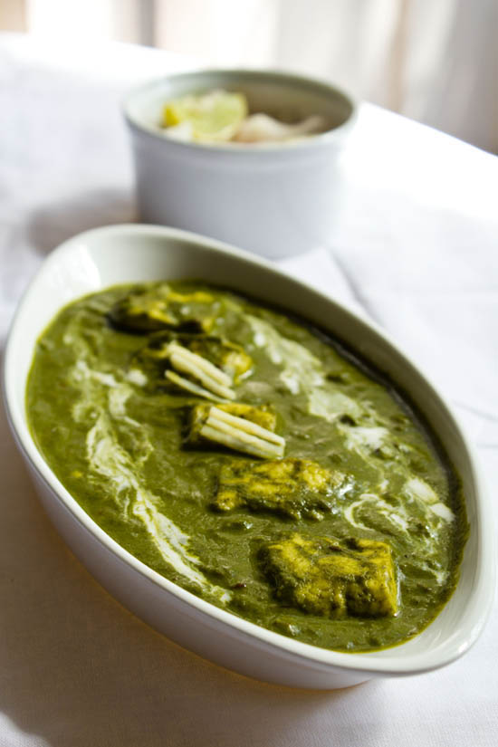 Palak Paneer | Punjabi Green Subji Palak Paneer Recipe :: Indian Food ...