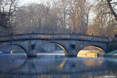 Clare Bridge sunrise