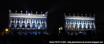 """Son et lumière """"Rendez-vous Place Stanislas 2011"""""""
