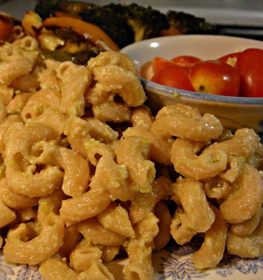 Garlic Scape Pesto + Leftovers Idea + Bonus Pic!