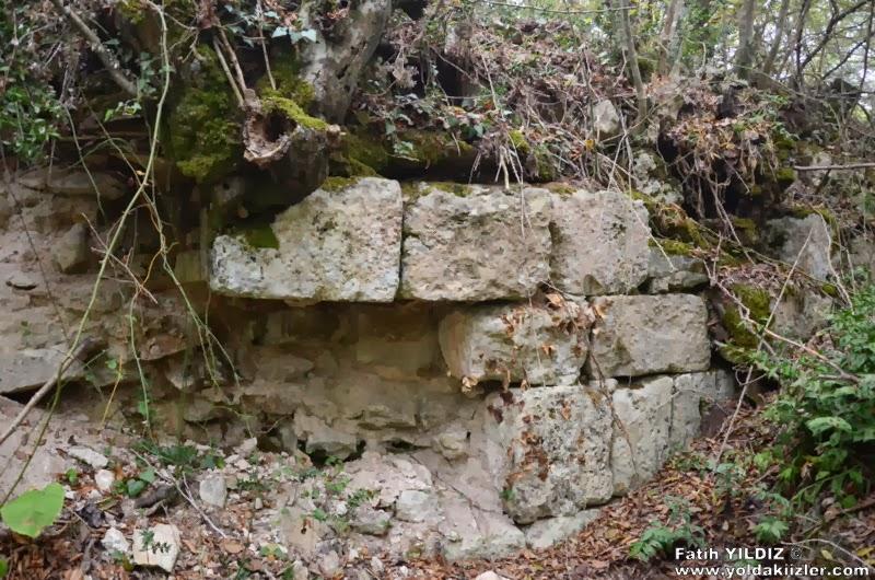 Anasztasziosz-fal Çatalca városka mellett - Forrás: Yoldakı izler
