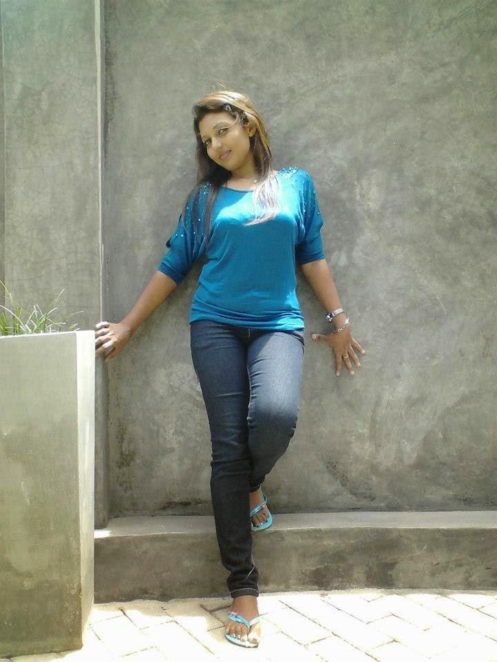 Shani Shenaya Wickremasinghe blue jeans