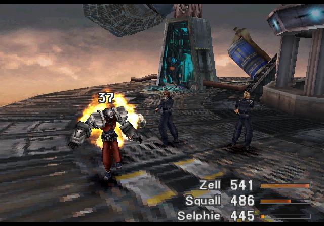 Super Adventures In Gaming Final Fantasy VIII PSX