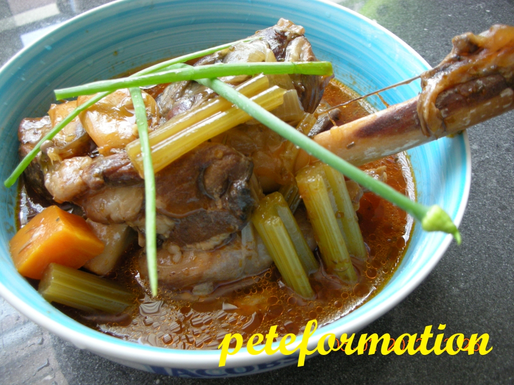 PeteFormation Foodie Adventure: Pressure Cooker Lamb Shank Recipe